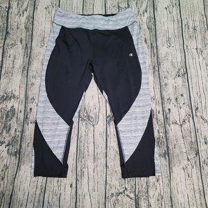 Champion XXL Running Athletic Cropped Legging EUC